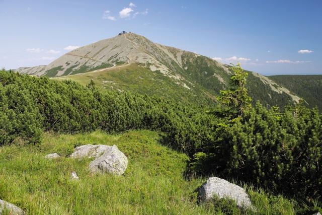 hory priroda krkonose