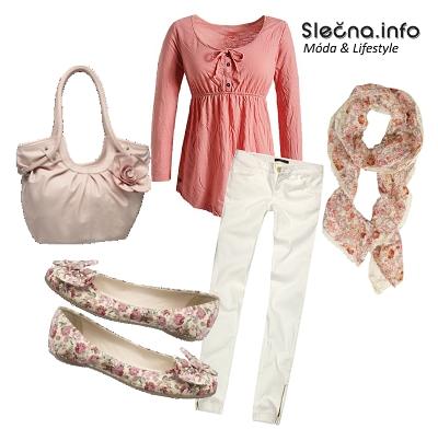 Květinový outfit