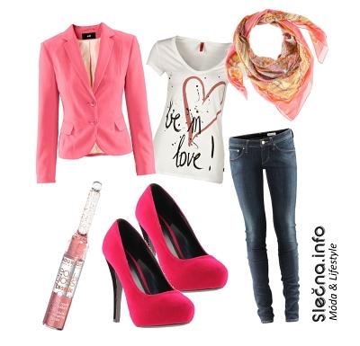 Outfit s pastelovým sáčkem