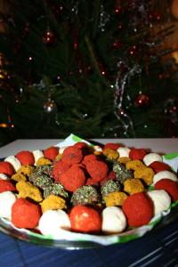 Vánoční sýrové kuličky