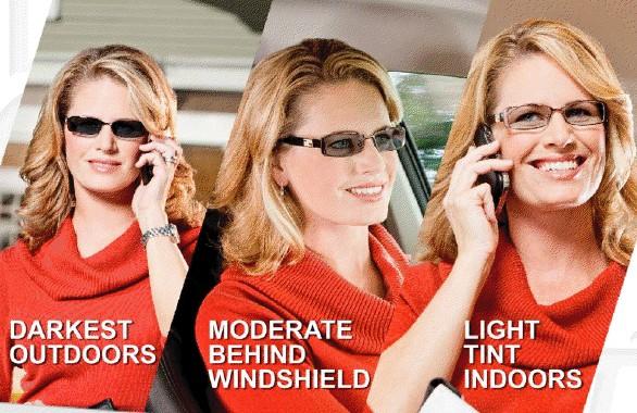 """""""Inteligentní"""" brýlové čočky Transitions"""