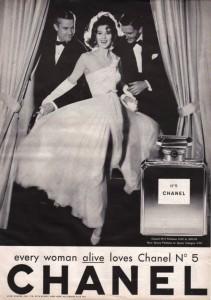 reklama na nejznámější parfém světa