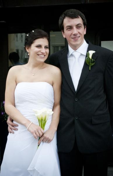 Katka s manželem Adim