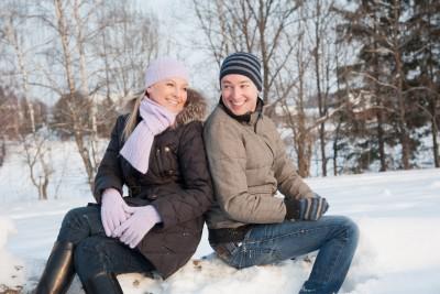 Muž a žena v přátelském hovoru