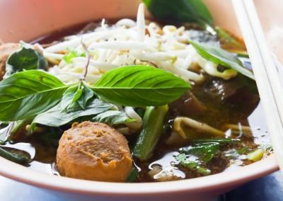 Noodle Soup thai style cuisine