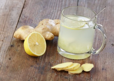 Zázvorový čaj s citronem vyžene chřipku z těla