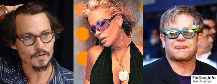Slavné osobnosti a jejich brýle