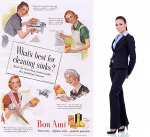 žena emancipovaná vs žena v domácnosti