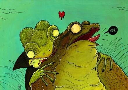 Hrabě Frogcula (autor: Jan Gruml)