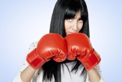 Kickbox je i pro holky
